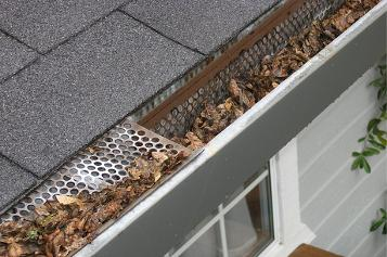 gutter cleaning services offered by Altura Construction Company Inc.